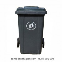 Giá thùng rác composite