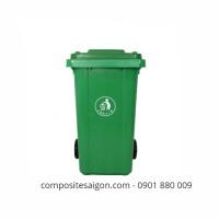 Mẫu thùng rác nhựa composite đẹp