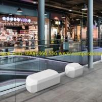 ghế nhựa composite trung tâm thương mại