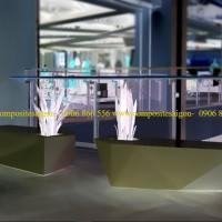 bàn ghế ngoài trời composite cao cấp