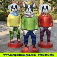 Tượng mô hình chó composite, nhận làm tượng hoạt hình Composite giá tốt, xưởng gia công tượng Composite, xưởng sản xuất composite, xưởng sản xuất nội thất composite, tượng composite, gia công tượng mô hình composite, nhận làm tượng mô hình composite theo yêu cầu, tượng hoạt hình composite cao cấp, tượng composite giá rẻ.