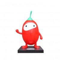 Mô hình nhựa composite trái cây hoạt hình dễ thương