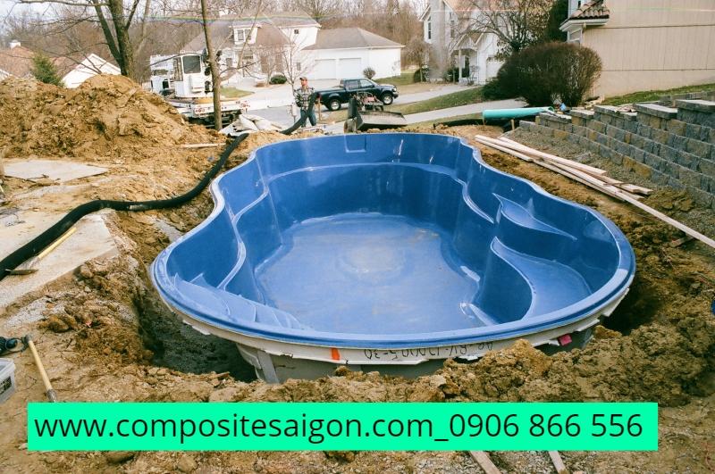 hồ bởi composite