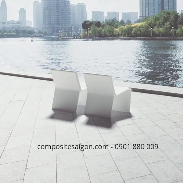 Bàn ghế bằng composite đẹp