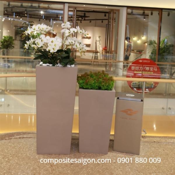 Chậu hoa composite giá rẻ tại HCM