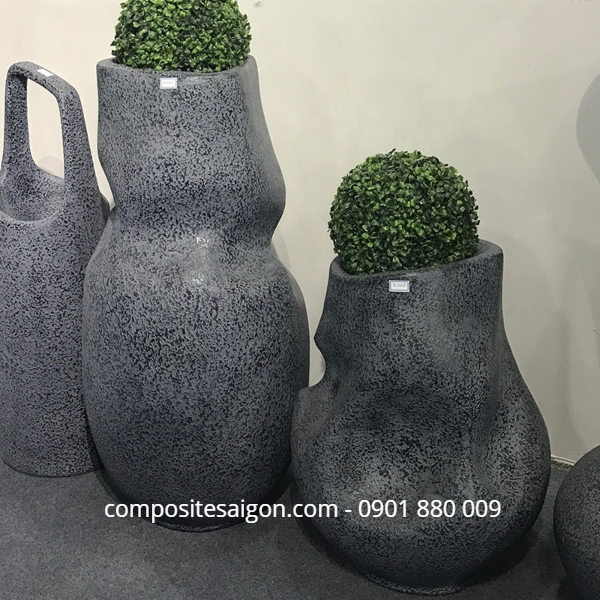 Địa chỉ bán chậu hoa composite tại HCM
