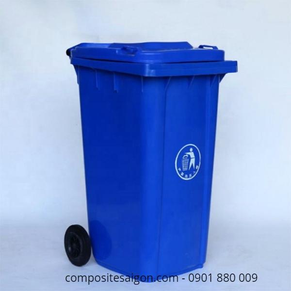 Thùng đụng rác composite công cộng
