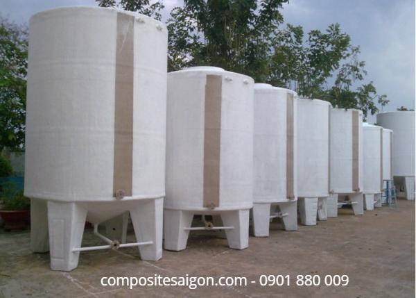 Xưởng sản xuất bồn composite tại HCM