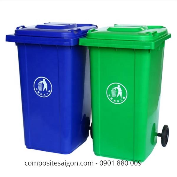 Xưởng sản xuất thùng rác nhựa frp tại HCM