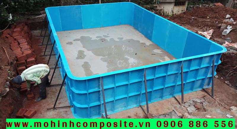 hô bơi composite