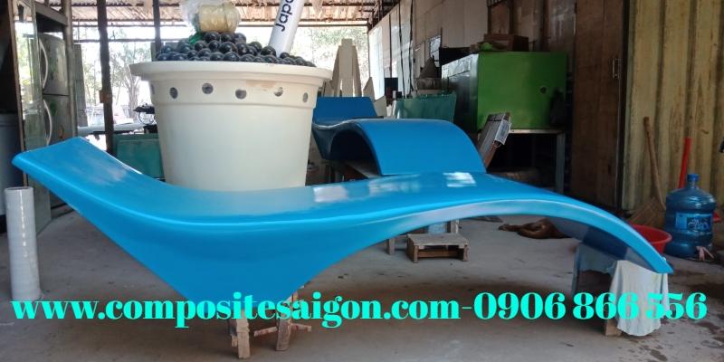 ghế tắm nắng ngoài trời, ghế tắm nắng hồ bơi composite, ghế tắm nắng frp, xưởng sản xuất ghế tắm nắng tphcm, ghế tắm nắng composite giá rẻ, công ty cung cấp ghế tắm nắng composite