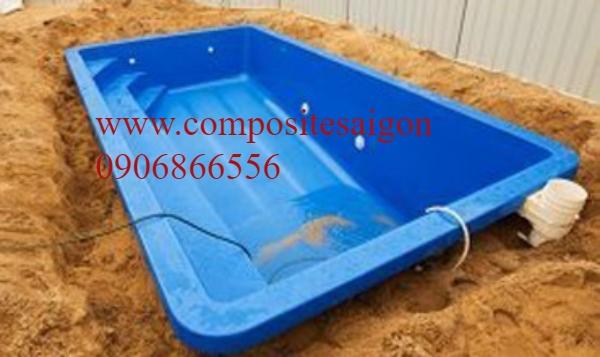 hồ bơi bể bơicomposite frp giá rẻ