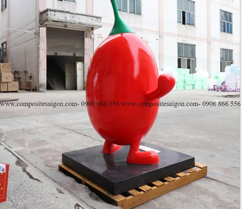 mô hình hoạt hình trái cây composite