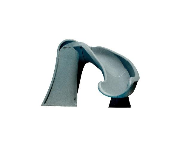Cầu trượt nước chất liệu composite cho ngày hè năng động.