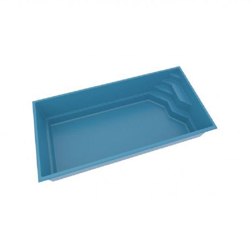 Sản phẩm hồ bơi đúc sẵn chất liệu composite đẹp cao cấp