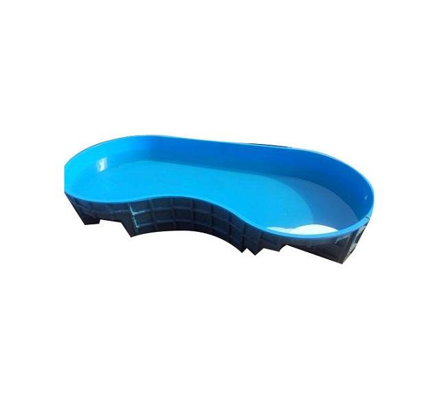 Sản phẩm hồ bơi đúc sẵn chất liệu composite hiện đại