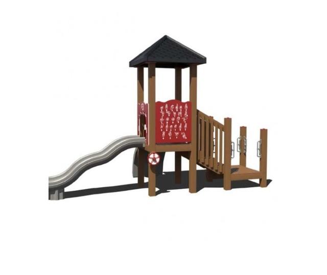 Trò chơi liên hoàn composite cao cấp cho các bé vui chơi thỏa thích ngoài trời