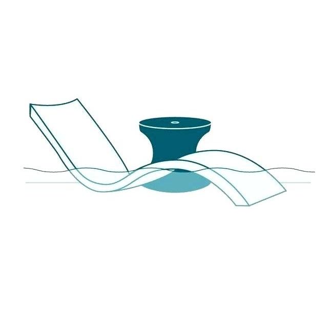 Ghế nằm ngoài trời hồ bơi chất liệu composite giá tốt