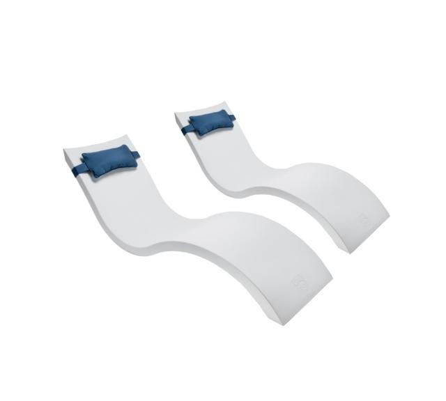 Mẫu ghế nằm hồ bơi composite chất lượng bền đẹp giá tốt