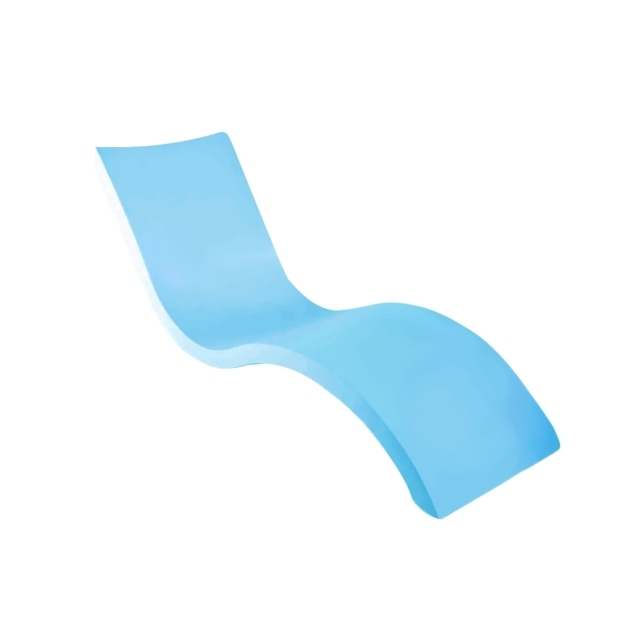 Mẫu ghế nằm ngoài trời chất liệu composite cao cấp