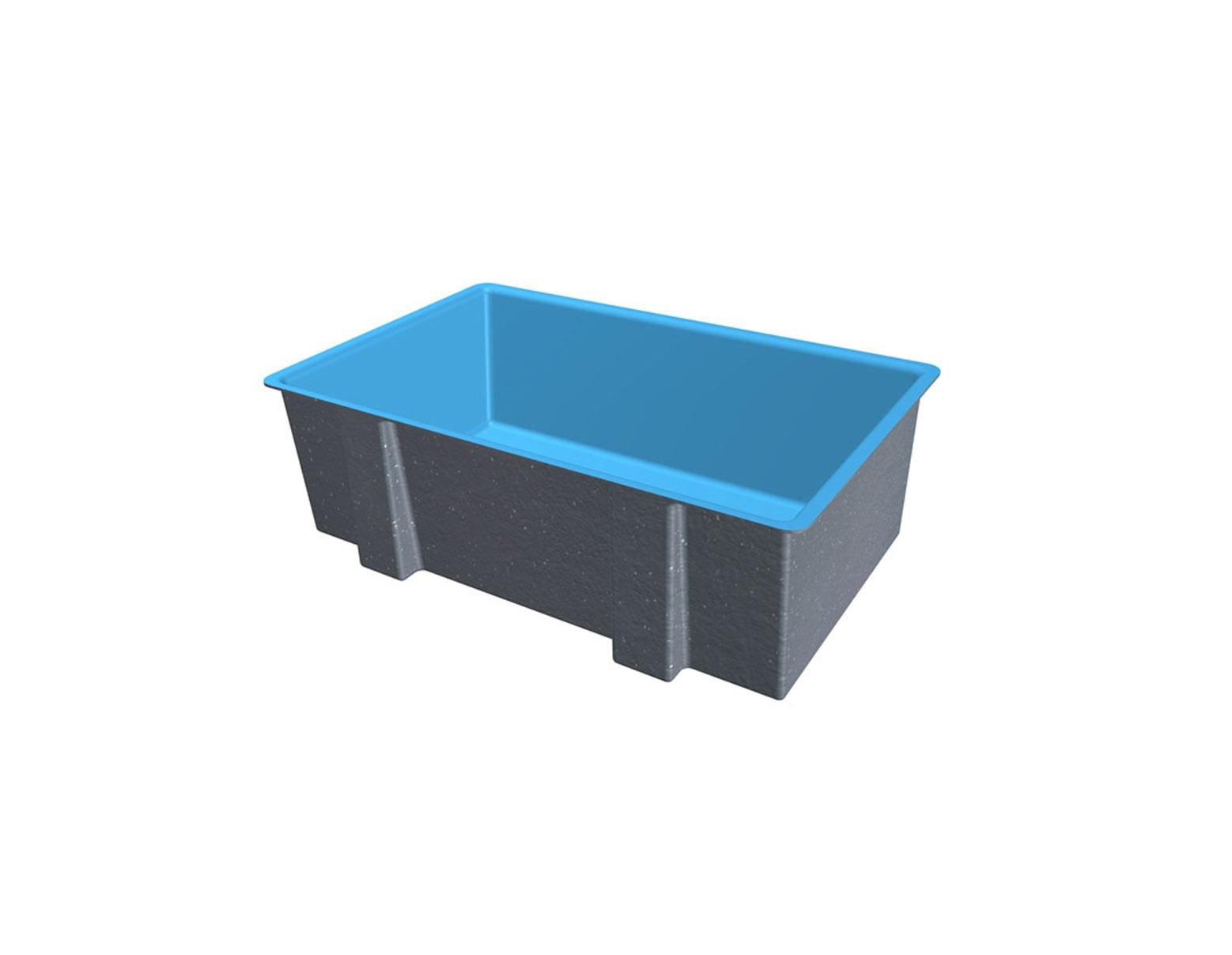 Mẫu bồn bể nuôi cá chất liệu composite cao cấp giá tốt