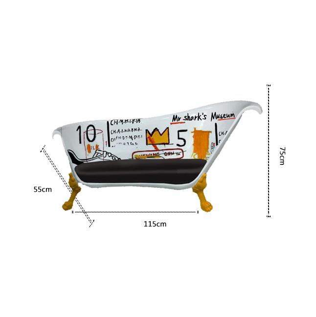 Ghế sofa composite【hình bồn tắm】