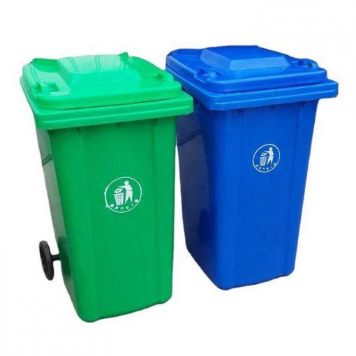 Thùng rác nhựa composite 240 lít
