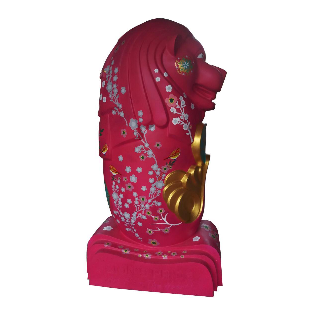 Tượng mô hình sư tử làm từ composite cao cấp