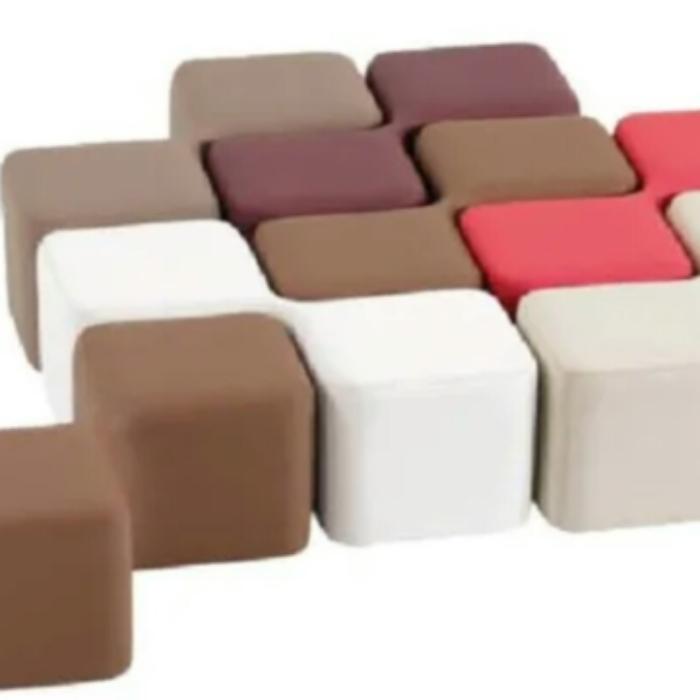Ghế khối đôi bằng composite
