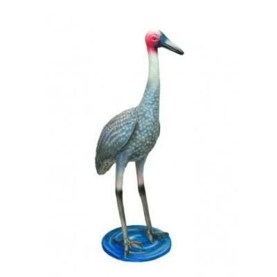 Tượng  mô hình chim Hạc  FRP