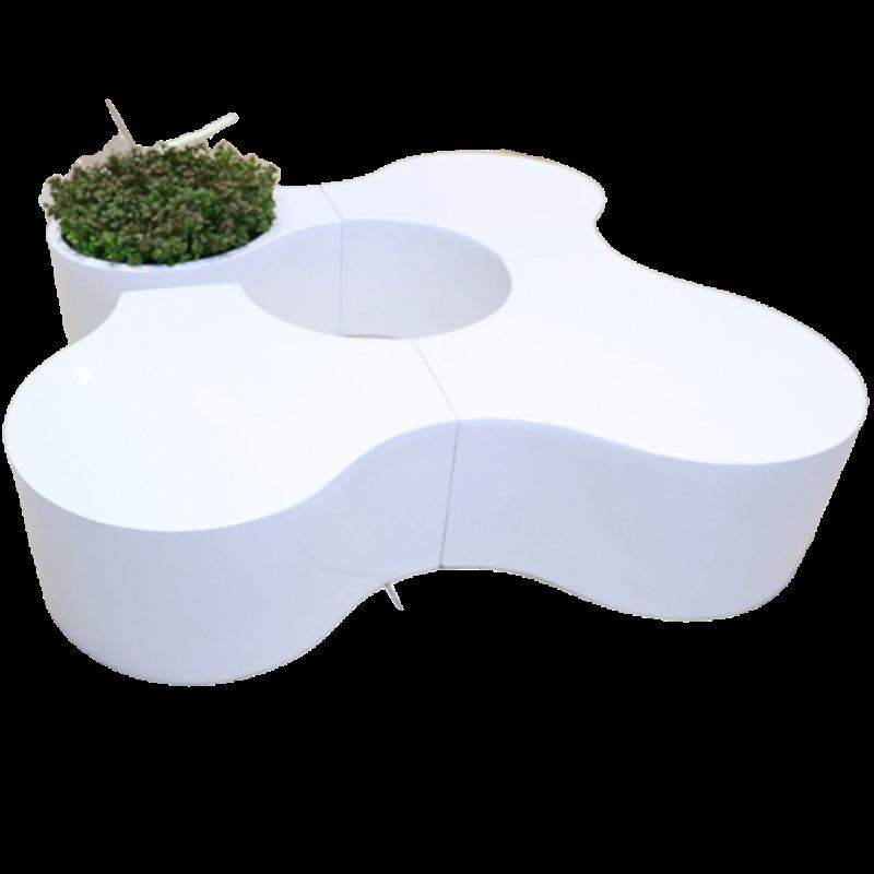 Ghế composite giải trí kết hợp hình cánh hoa