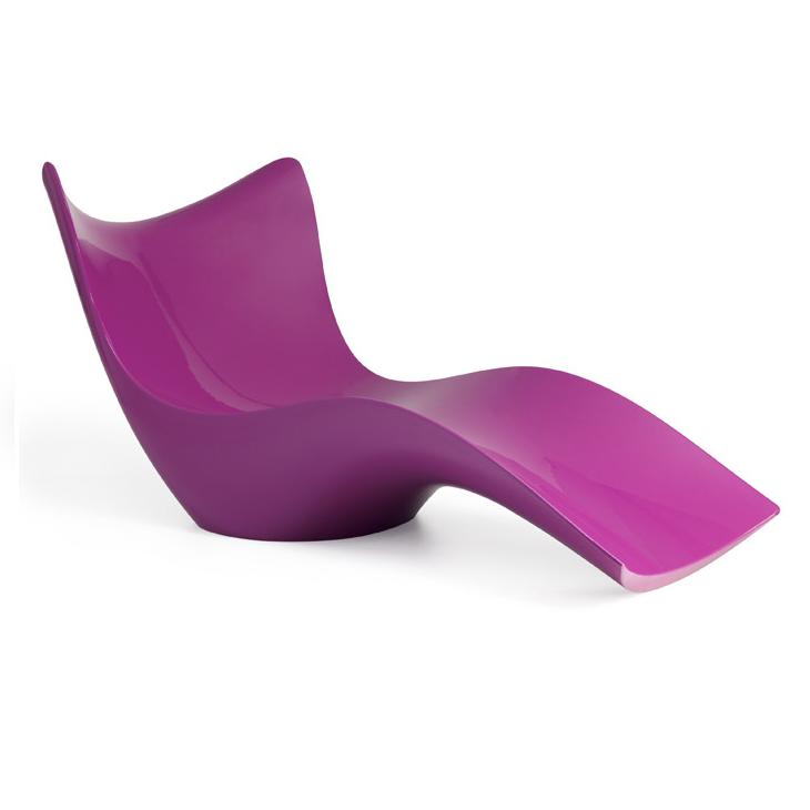 Ghế tắm nắng ngoài trời dạng lướt sóng composite