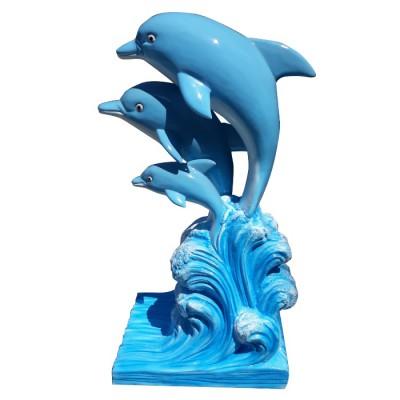 Mô hình cá heo làm từ composite cao cấp