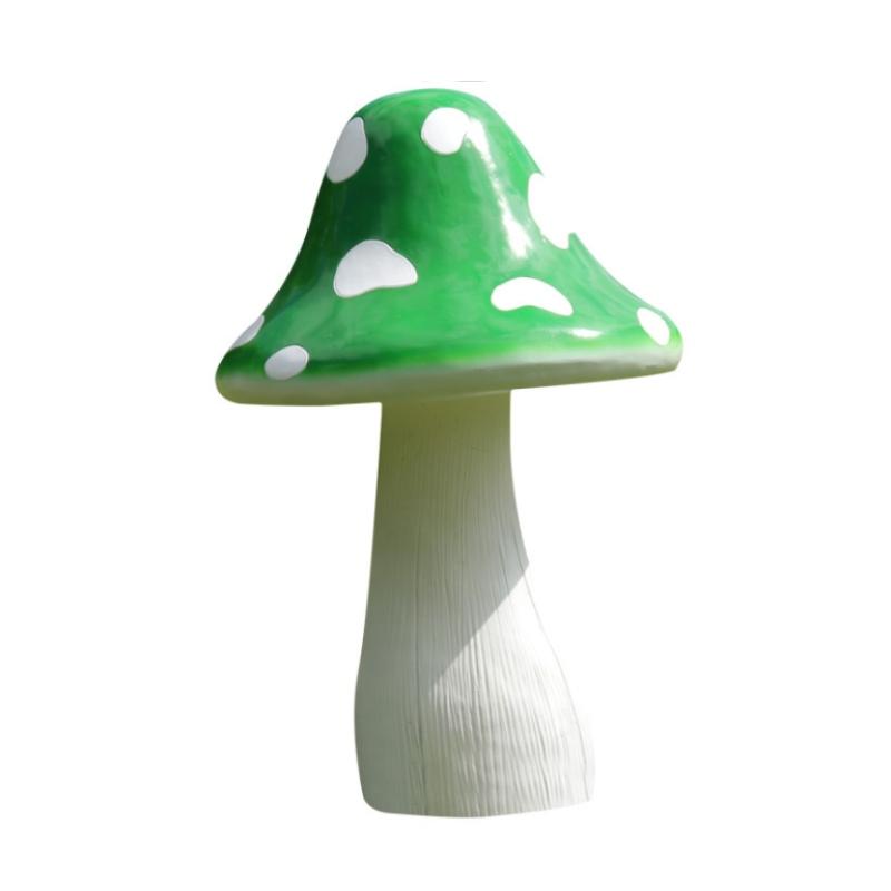 Mô hình nhựa composite cây nấm nhiều màu trang trí công viên