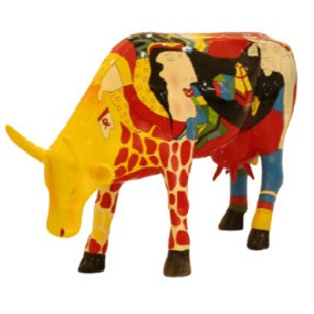 Mô hình con bò 01