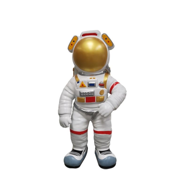 Mô hình trang trí điêu khách phi hành gia bằng nhựa composite