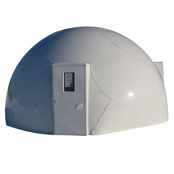 Nhà lắp ghép mái vòm với tính năng cách nhiệt mới