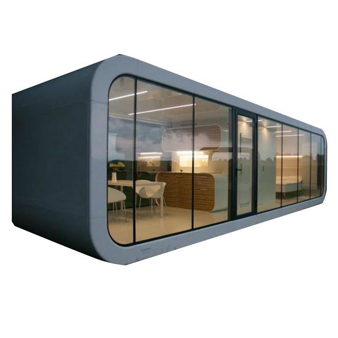 Nhà lắp ghép composite di động hình hộp