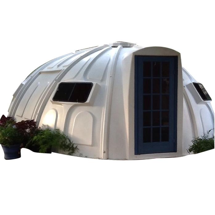 Căn nhà mái vòm nhựa composite - công nghệ tương lai