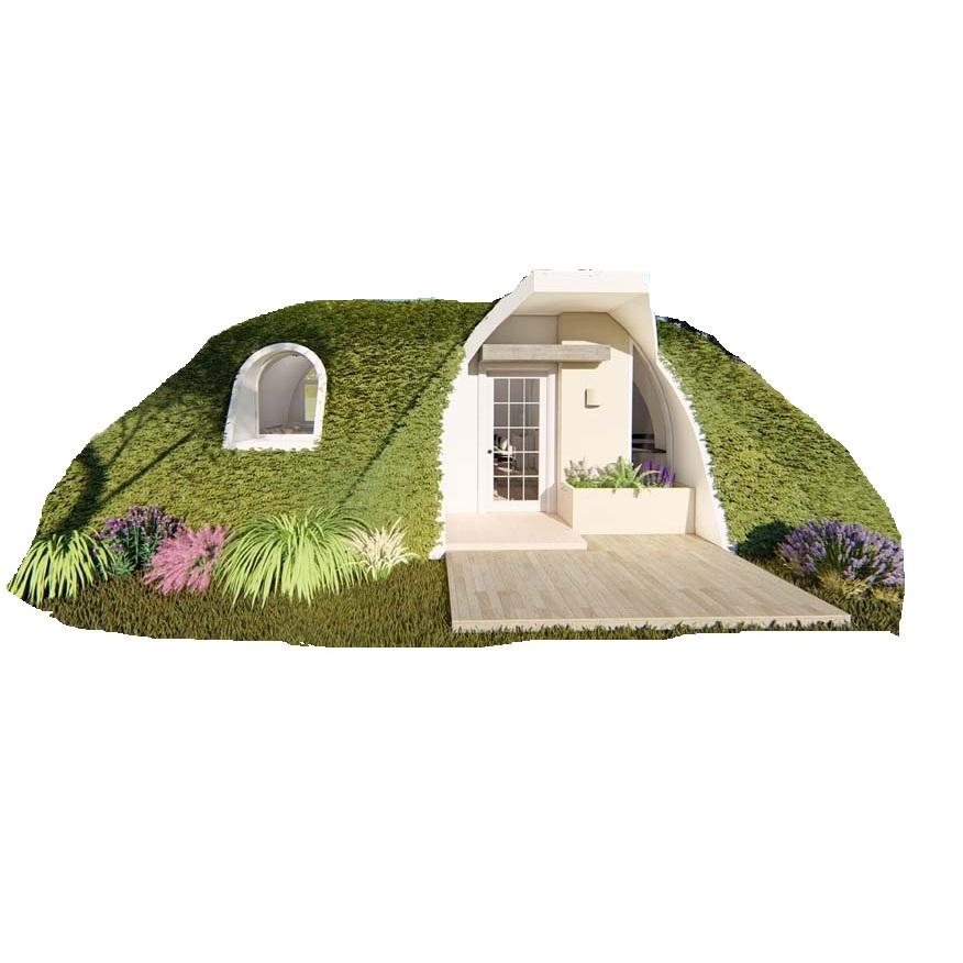 Nhà đúc sẵn di động (composite frp) cao cấp 1 phòng ngủ
