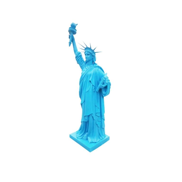 Tượng điêu khắc nữ thần tư do bằng nhựa composite cao cấp