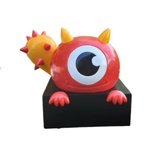 Mô hình quái vật một mắt bằng composite frp